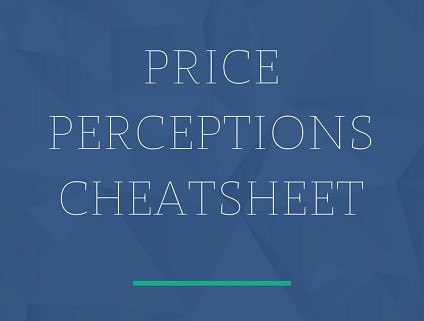 Price Perceptions Cheatsheet - Laura Elkaslassy Money Mentor